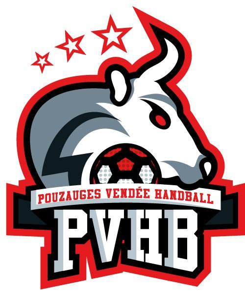 nouveau logo du Pouzauges Vendée Handball