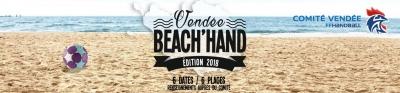 Beach handball en vendee